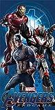 Marvel - Avengers Endgame Captain America and Iron Man - Toalla de playa