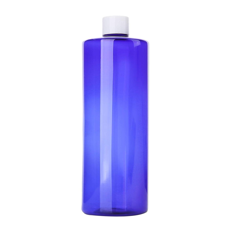 持続するヒゲクジラカリング1本 化粧品用 詰め替えボトル 詰め替え容器 大容量 500ml 中栓付き 使いやすい 化粧水用 シャンプー クリーム 貯蔵用 携帯用 空容器 おしゃれ 白ヘッド ブルー