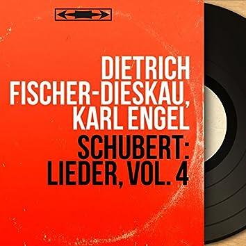 Schubert: Lieder, Vol. 4 (Mono Version)