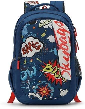 Skybags Figo Plus 05 34 Ltrs Blue Casual Backpack (FIGO Plus 05)