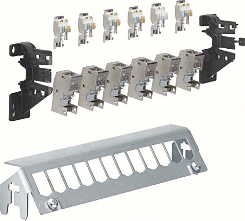 Hager Panel 12-Piece with 6XRJ45 Modules FZ12 MM