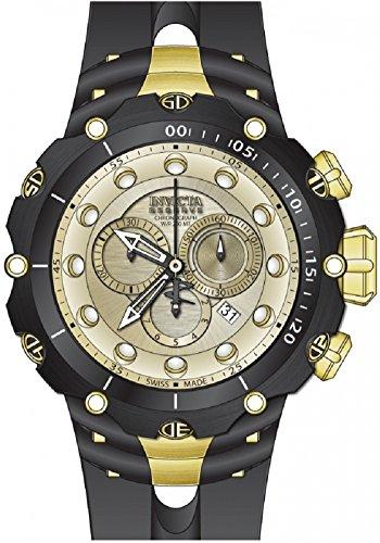 Invicta Men's 52mm Venom Sea Dragon Gen II Swiss Quartz Chronograph Strap Watch (26245)