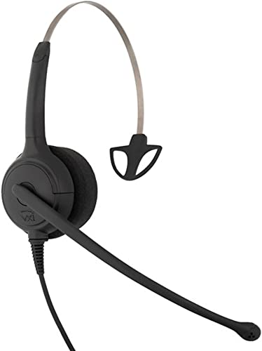 wholesale VXi popular 203501 CC Pro 4010G Over-the-Head Monaural Headset with 2021 N/C Microphone outlet sale