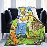FashionDIY The Simpsons Decke  übergroß  warm  f