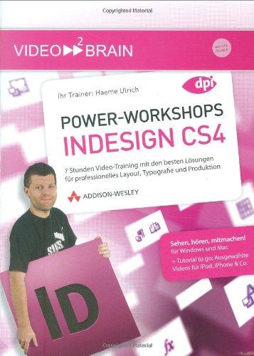 Power-Workshops InDesign CS4 [import allemand]