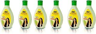 Pack of 6 - Aswini Hair Oil - Controls Hair Fall, Prevents Dandruff - 200ml