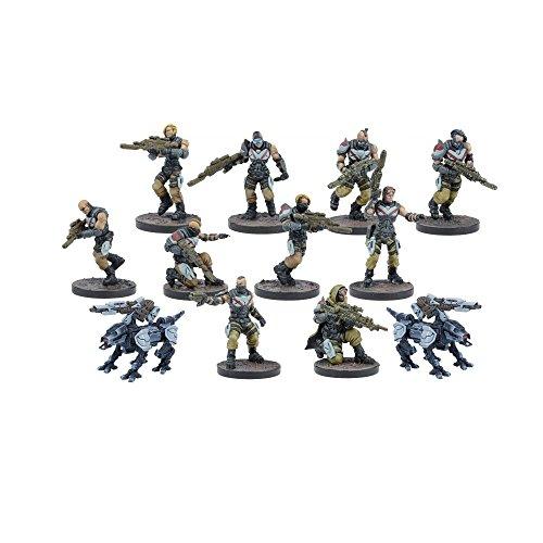 Mantic Games MGWPE302 Enforcer Pathfinders Modelo, Multicolor