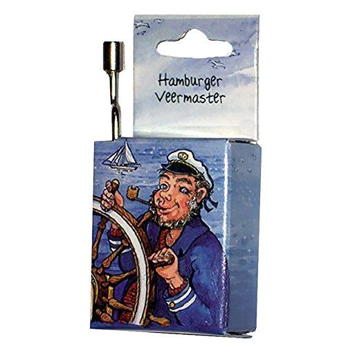 Fridolin 59314 Spieluhr Hamburger Veermaster