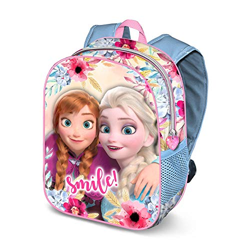 Karactermania Frozen La Reine des Neiges Smile 3D Sac...