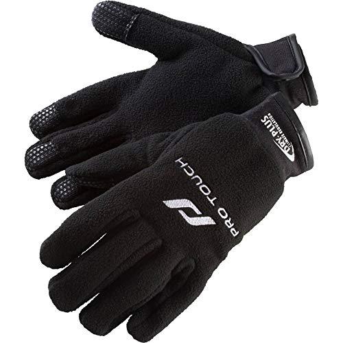 Pro Touch Unisex– Erwachsene Handschuhe-183887 Handschuhe-Feldspieler, SCHWARZ/Weiss, 11
