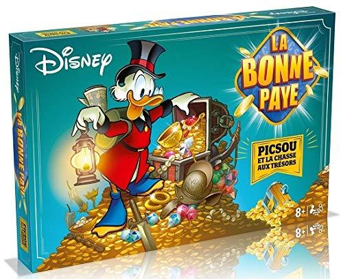 Toys La Bonne Paye Disney : picsou et la Chasse aux tresors - Jeu Societe Plateau - Enfant 8 Ans et Plus