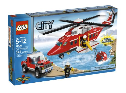 LEGO City Fire Helicopter (7206) by LEGO