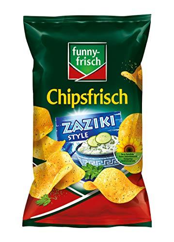 funny-frisch Chipsfrisch Zaziki Style, 10er Pack (10 x 175 g)