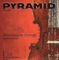 CUERDAS CONTRABAJO - Pyramid (Aluminium 195100) Medium (Juego Completo) 1/4
