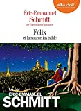 Félix et la source invisible - Livre audio 1 CD MP3 - Audiolib - 16/01/2019