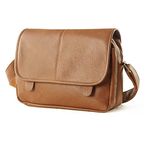 Sincere® Cuir / extérieur sac à bandoulière / Loisirs / M package-Brown Hommes 1