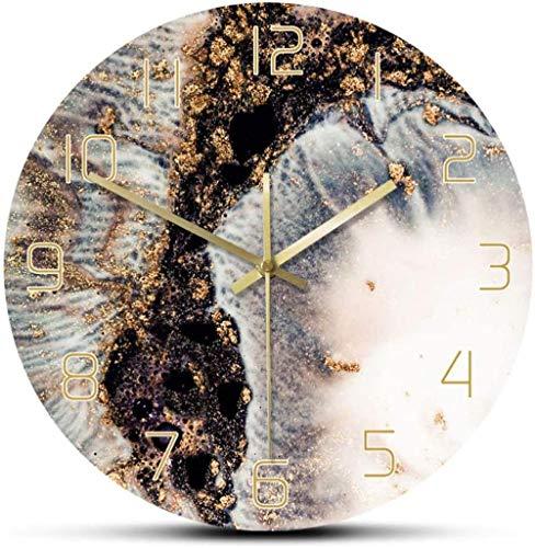 Reloj De Pared con Mapa del Mundo Colorido Único, Movimiento Silencioso, Reloj De Pared Decorativo Moderno, Arte De Pared Geométrico, Regalo De Viajero De Inauguración De La Casa, 30Cm