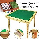 U.A.A Inc Wooden Mahjong Table