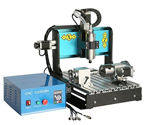 JFT 4 Axis 3040 Cnc Router (800w Spindle) Four Axis 3040 Cnc Engraver / Cnc Engraving Machine / Cnc Machine