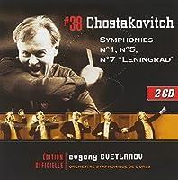 Chostakovitch : Symphonies no1, 5 et 7 Leningrad (2008-09-30)