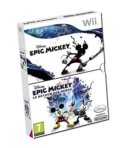 Disney Epic Mickey + Disney Epic Mickey : le retour des héros [Importación francesa]
