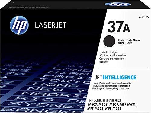 HP 37A CF237A Cartuccia Toner Originale per Stampanti HP LaserJet Pro serie Enterprise M607/M608/M609/M631/M632/M633