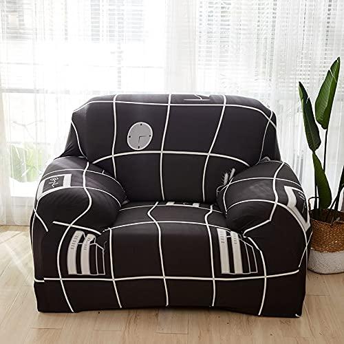 WXQY Fundas elásticas Fundas elásticas para sofá, protección para Mascotas, Funda para sofá, Esquina en Forma de L, Funda para sofá con Todo Incluido, A20, 4 plazas