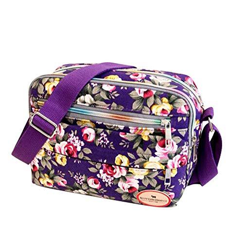 Women Handbags Vintage Bags Sale Clearance Ladies Vintage Printing Canvas Messenger Bag College Girl Casual Travel Purse Cosmetic Bag Summer Beach Bag Small Shoulder Bag Crossbody Bag