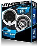 ALFA ROMEO 146Puerta trasera Altavoces Fli Audio Altavoces de coche kit 210W