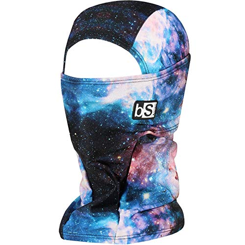 BLACKSTRAP Hood Balaclava Face Mask, Dual Layer Cold Weather Headwear for Men and Women, Space Nebula