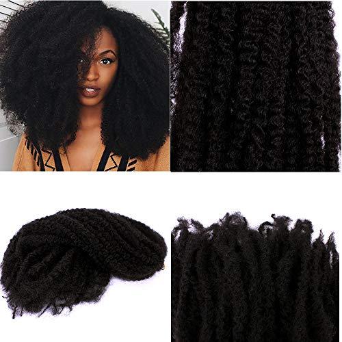 Kinky Twist Hair Crochet Zöpfe Ombre Marley Braid Haar 18inch Senegalese Curly Häkel Synthetische Flechten Haar Bulk Twist Crochet Zöpfe 60 Stränge / Pack