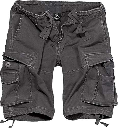 Brandit Vintage Short  Gr:- L, Farbe:-Anthrazit