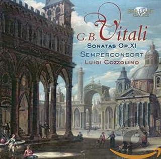 VITALI: Sonatas Opus 11 for Violin and Basso Continuo