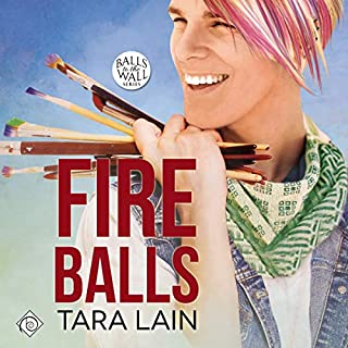 Fire Balls audiobook cover art