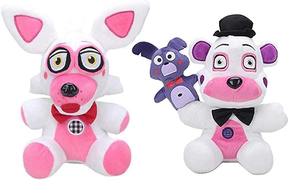 YLEAFUN FNAF Plushies Plush Figure Toys Location Gifts Gif Sets-Sister Award-winning store