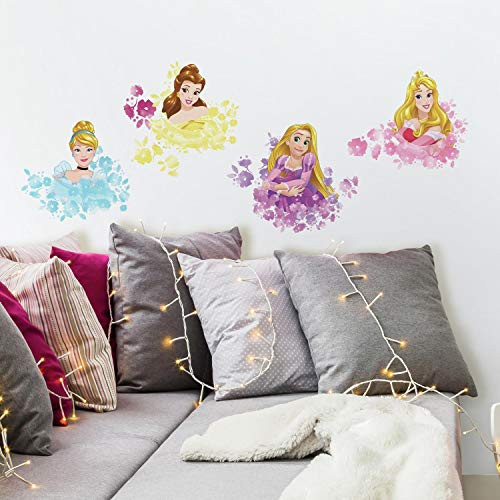 RoomMates Disney Princess Floral Peel And Stick Wall Decals
