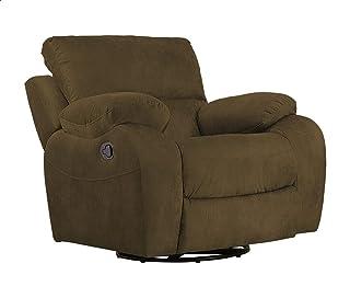 كرسي استرخاء قابل للإمالة ليزي بوي كمفرت من الدورا - بني غامق