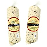 Black Winter Truffle Butter from France in Plastic Roll - 2 pack x 16 oz