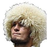 SIBERHAT Russian caucasian Headdress papakha.Handmade. White