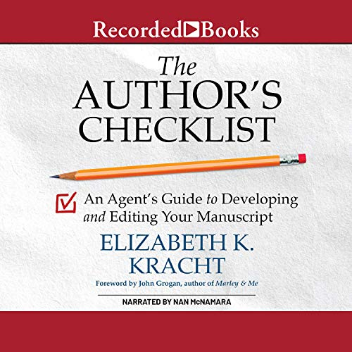 The Author's Checklist audiobook cover art