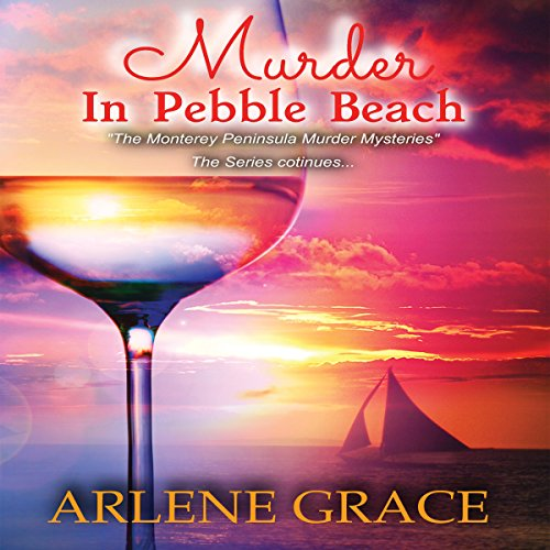 Murder in Pebble Beach audiobook cover art