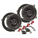 tomzz Audio 4033-000 Lautsprecher Einbau-Set kompatibel mit Mazda 2 3 323 Demio...