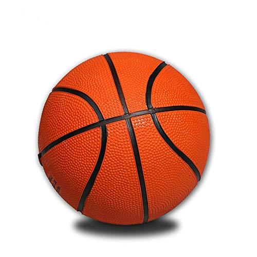 Pelota de Baloncesto Mini Entrenamiento De Goma De Baloncesto Amarillo Tamaño Pequeño para Actividades De Interior De Mini Baloncesto En Interiores