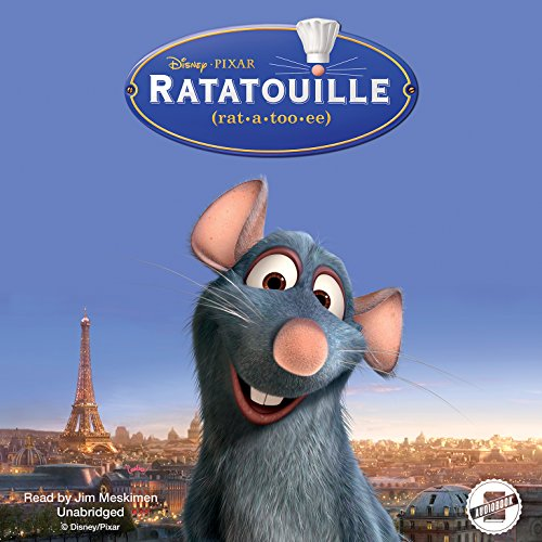 Ratatouille audiobook cover art
