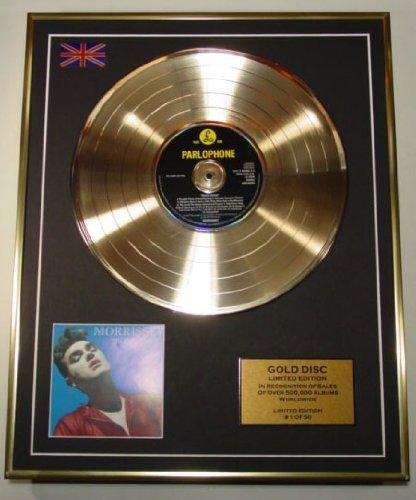 MORRISEY/Cd Disco de Oro Disco Edicion Limitada/BONA DRAG
