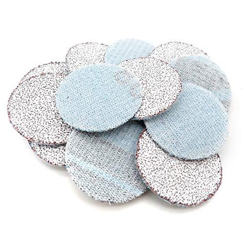 100PCS 1Inch 25mm Sanding Discs Hook & Loop White Dry Grinding Sandpaper 60 to 10000 Grit Power Tools Accessories,800
