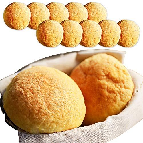 牛乳 メロンパン 10個 セット 北海道産 牛乳 100% 小麦粉 生クリーム 北国からの贈り物
