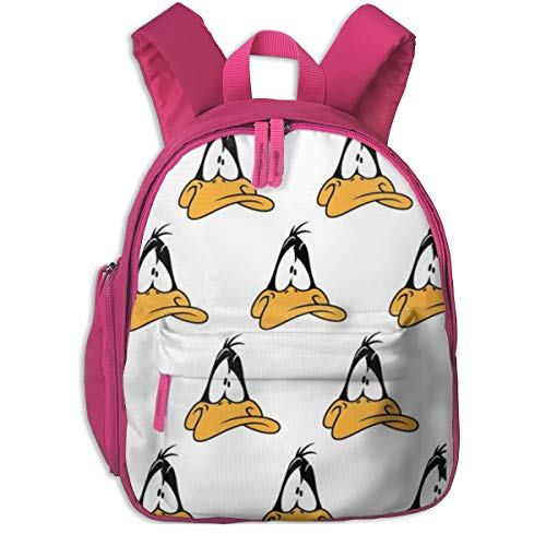 Zainetto scuola Daffy Duck Cool Boy Girl universale tela borsa da viaggio, rosa (Rosa) - Pink-48