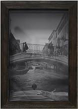 Porta Retrato Caixa Liso Para Foto no Tamanho 10X15cm Kapos Imbuia