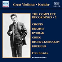 Various: Kreisler Complete Rec